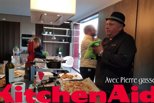 Cuisiniste ancenis Groizeau, demo kitchenaid