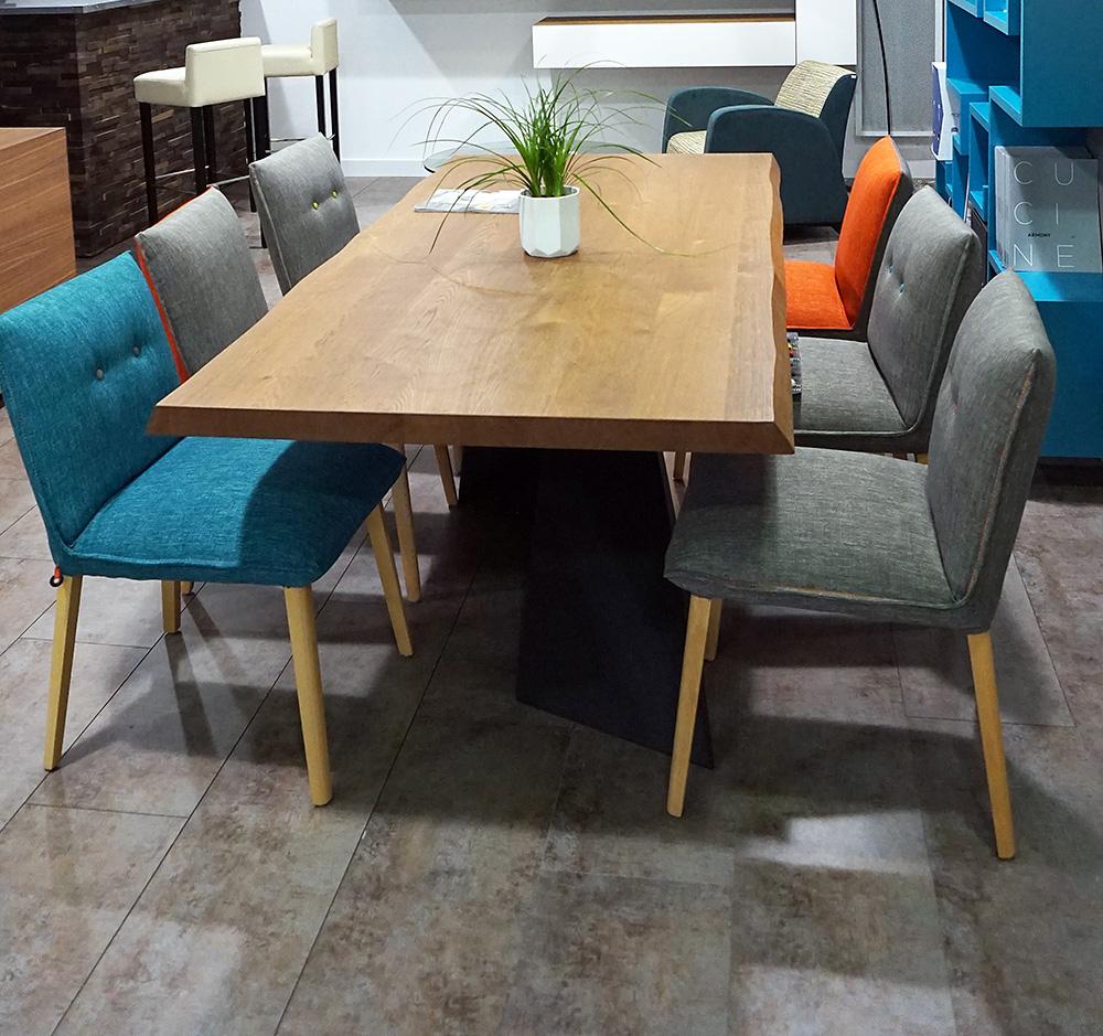 table riflessi living en promotion. Black Bedroom Furniture Sets. Home Design Ideas