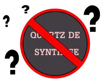 Le quartz de synthèse ou pierre de synthèse est il dangereux pour le consommateur
