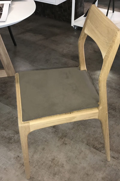 Chaise design chêne