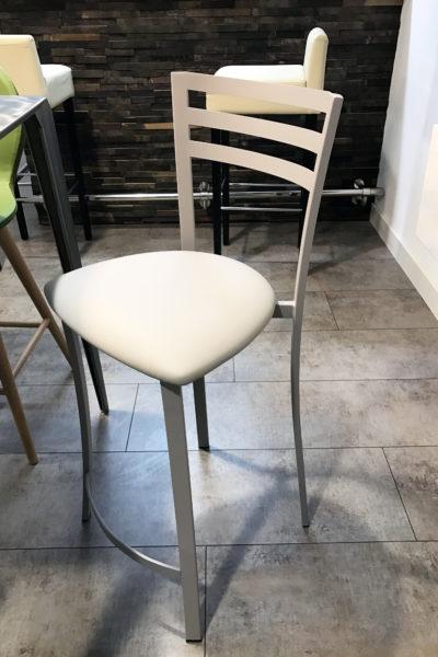 Chaise acier confort cuisine