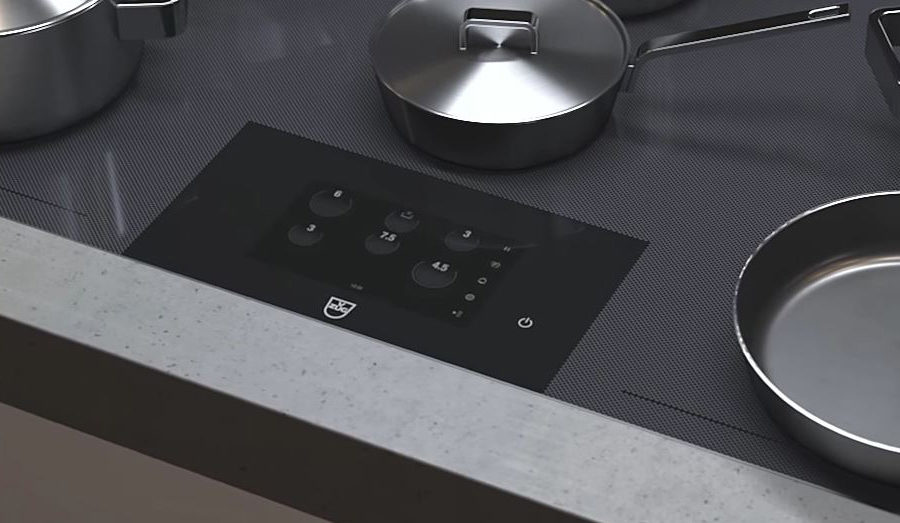 Badeau de commande de la table induction Fullflex Vzug