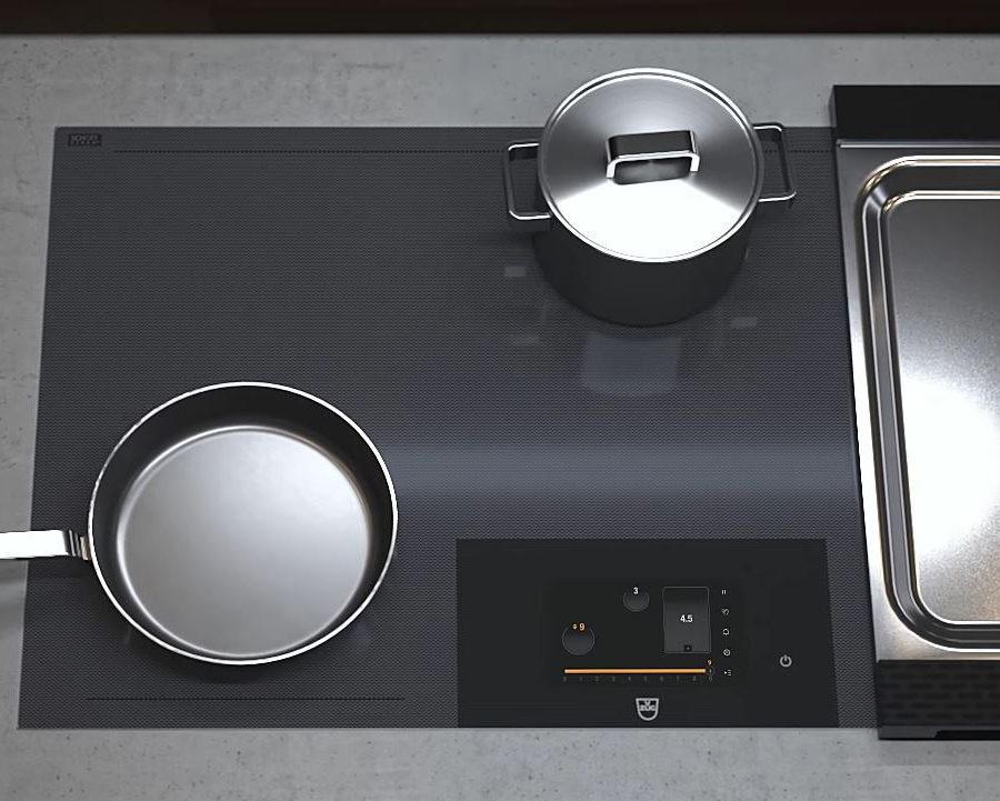 ergonomie de la table induction Fullflex Vzug