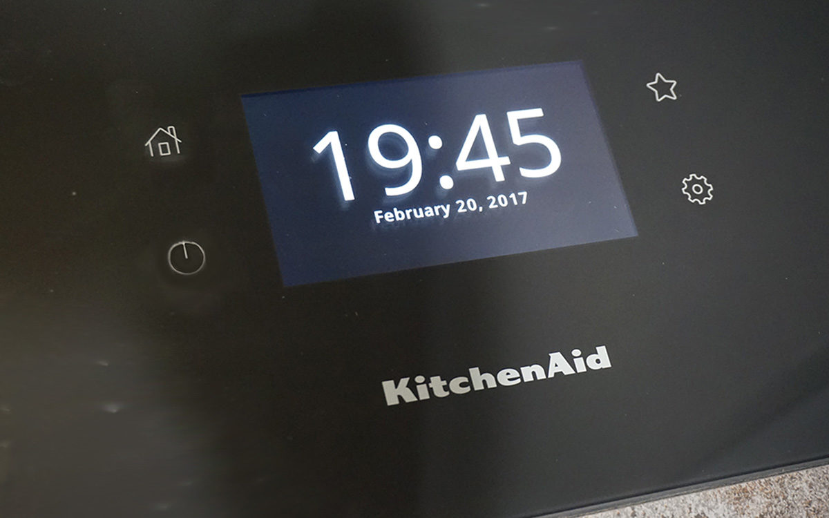 Nouvel interface des plaque induction kitchenaid