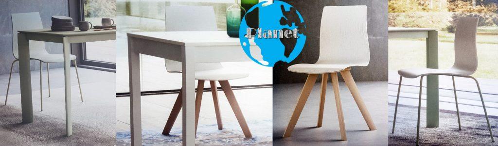 Chaise de cuisine deco Armony Planet