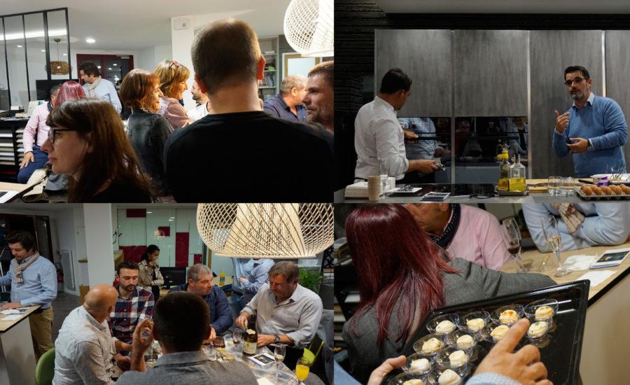 auditoire de la démo culinaire Vzug du 26 octobre 2018