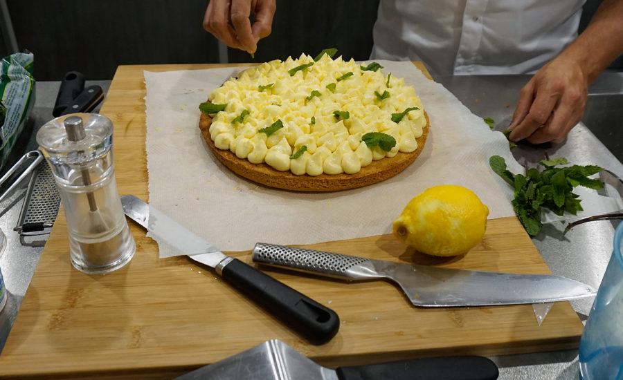 sablé breton à la crème citron Yuzu