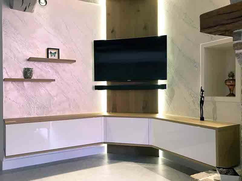 peinture istinto avec meuble tv