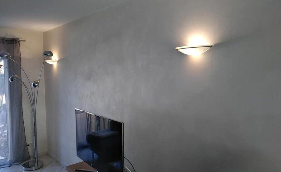 peinture Istinto dans le salon Tv