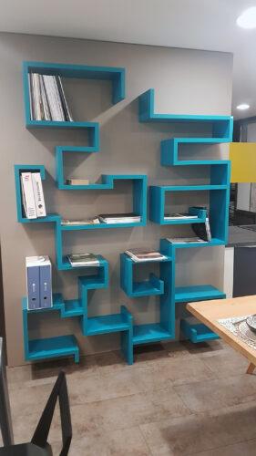 Bibliothèque design en promotion