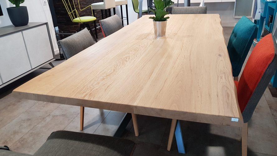Table deco bois massif