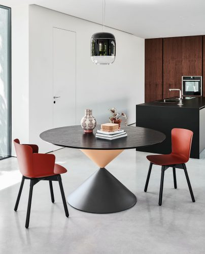 Table haut de gamme Midj modèle Clessidra